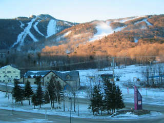 Killington's trails sport a new white coat during their opening weekend.