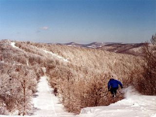 Plattekill is set amongst bucolic surroundings. (photo courtesy Ski Plattekill)