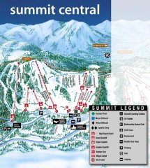 Summit at Snoqualmie Central Trail Map