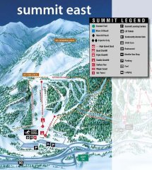 Summit at Snoqualmie East Trail Map
