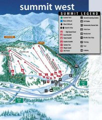 Summit at Snoqualmie West Trail Map