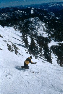 If you're looking for steeps, you'll find them in the East Bowls. (photo courtesy Montana Snowbowl)