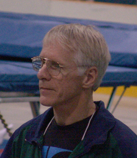Canadian trampoline coach Dave Ross