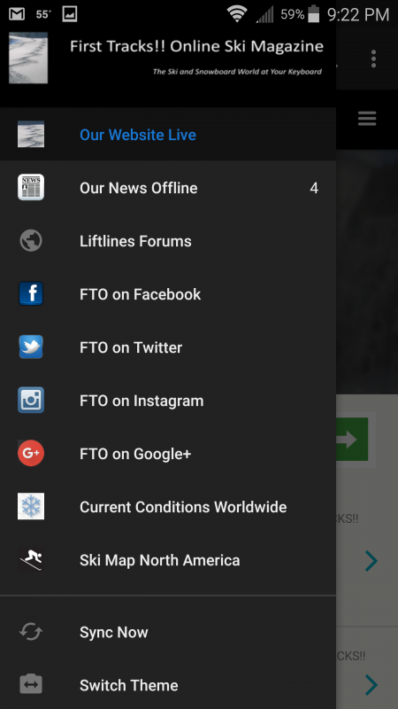 FTO for Android on a Samsung Galaxy Note 4 phone