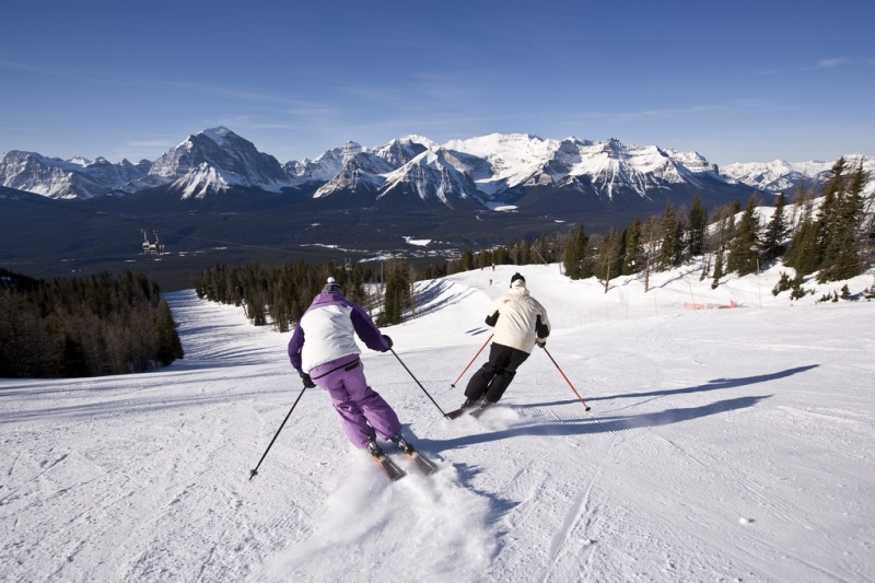 Lake Louise Ski Area (photo: Henry Georgi)