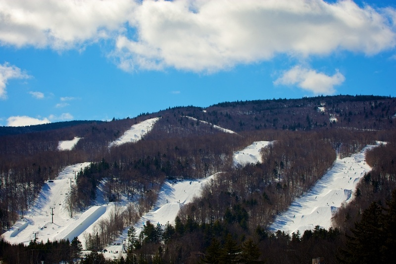 The Carinthia terrain parks at Mount Snow Resort in Vermont. (file photo: Mount Snow)