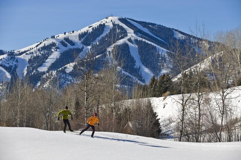 Nordic and alpine ski trails at Sun Valley (photo: Sun Valley Resort)