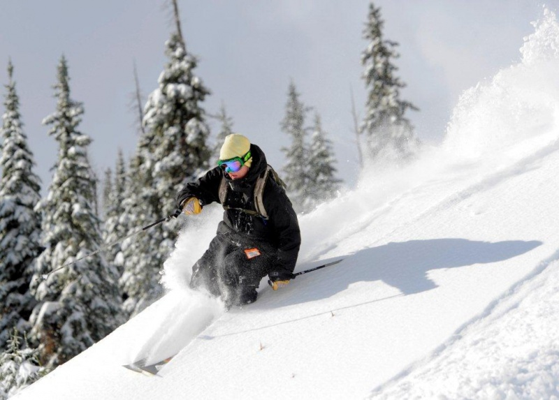 Wolf Creek ski area in Colorado is known for its prodigious powder (photo: Jack Dempsey)