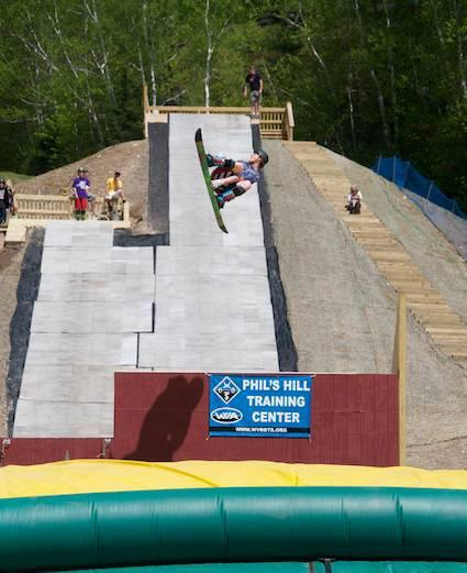 Waterville Valley Gets Year-Round Freestyle Training Facility