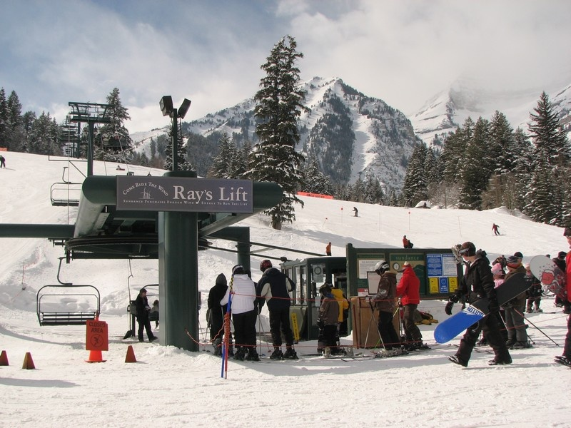 Sundance Resort's new chairlift being stalled this summer will take the pressure off its existing base-to-midmountain Ray's Lift. (FTO file photo: Marc Guido)
