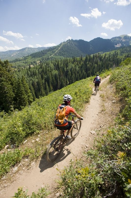 Canyons Mountain Bike Park Opens Thursday First Tracks