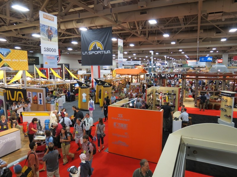 The main show floor at the Outdoor Retailer trade show in Salt Lake City, Utah (file photo: FTO/Marc Guido)
