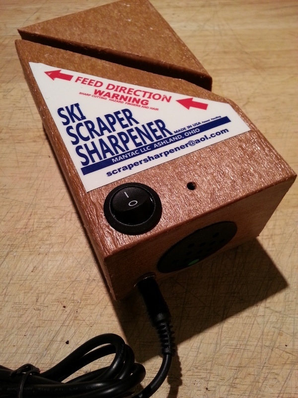 The Ski Scraper Sharpener from Mantac Limited (photo: FTO/Marc Guido)