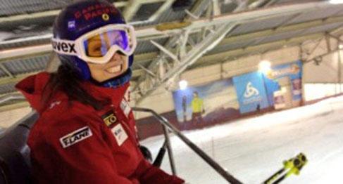 Kelsey Serwa in Landgraaf (photo: ACA)