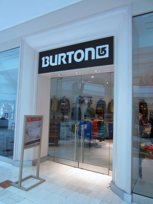 Burton Snowboards' new partner store in Bethesa, Md. (photo: Melody Ann Pfeiffer)