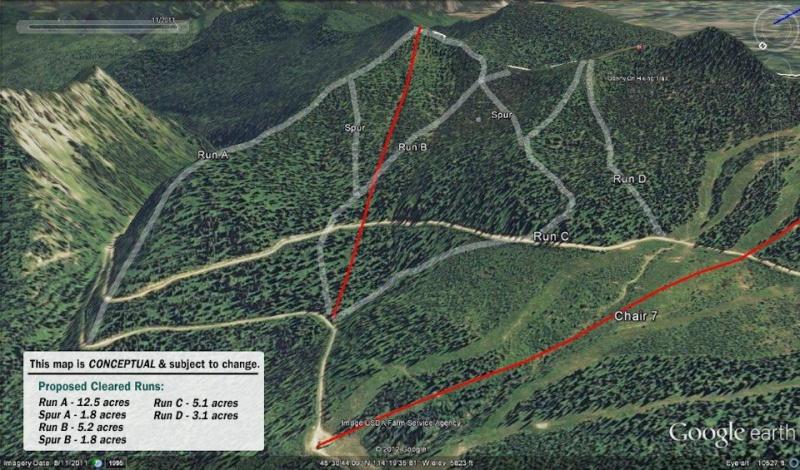 Whitefish's Flower Point expansion (image: Whitefish Mountain Resort)