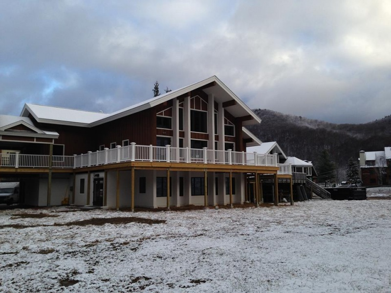 The new Andrea Mead Lawrence Lodge at Pico Mountain, in Killington, Vt. (photo: Vermont Adaptive)