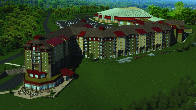 The new 453-room Camelback Lodge and Indoor Waterpark (image: Camelback Mountain Resort)