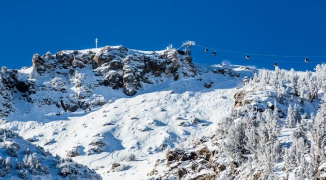 It's been a rough first half of winter in Calilfornia (photo: Mammoth Mountain)