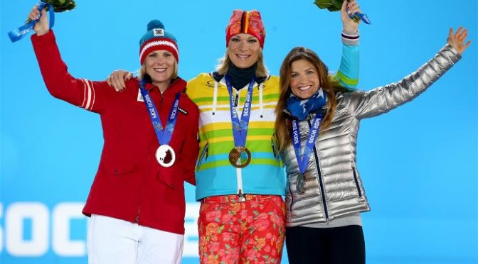 Mancuso Medals in Olympic Super Combined