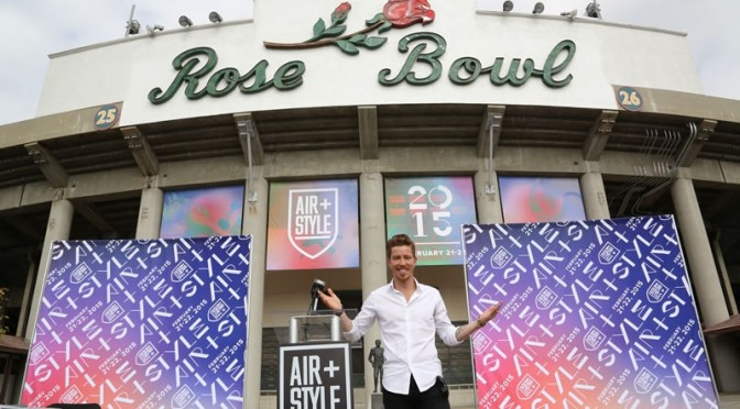 Snowboarder Shaun White will bring the Air + Style series to the Americas for the first time this February, at the Rose Bowl Stadium in Pasadena, Calif. (photo: Air + Style)