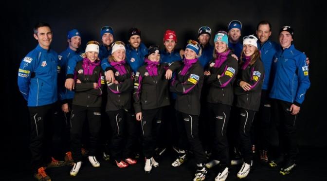 The 2014-15 U.S. Cross Country Ski Team (photo: USSA)