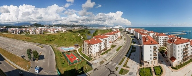 Sochi Olympic Village Welcomes Vacationers for Sun and Snow