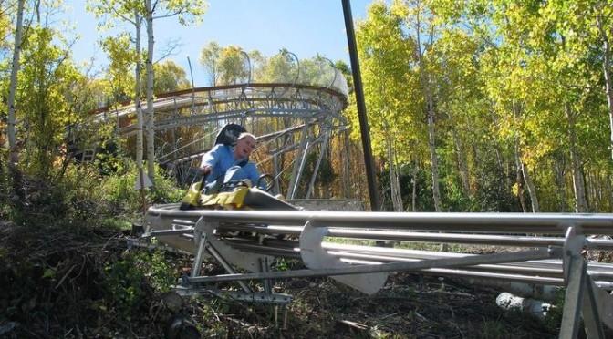 Berkshire East ski area in western Massachusetts has opened North America's longest Mountain Coaster. (photo: Berkshire East)