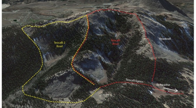Crested Butte skiers and riders will have access to 40 acres in the new Teo 2 area this season. (image courtesy: CBMR)