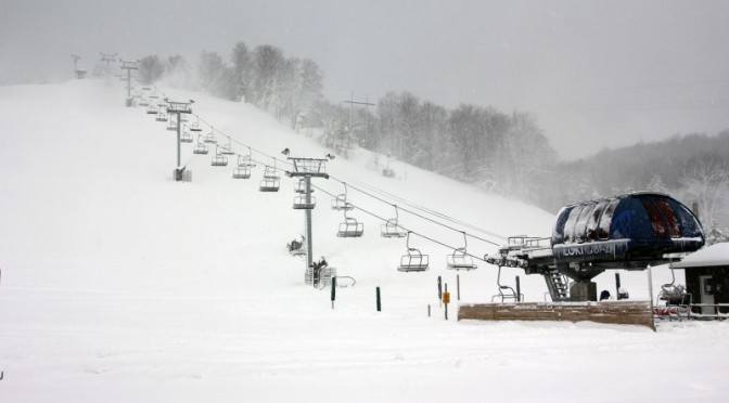 Free Skiing Friday at Crystal