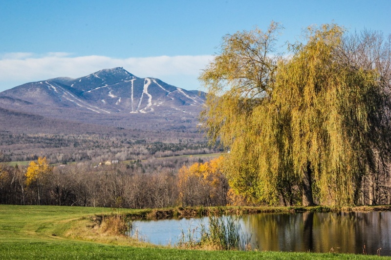 Winter can't be far away in northern Vermont at Jay Peak. (photo: Jay Peak Resort)