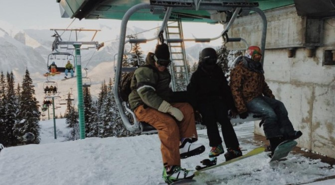 Opening day today at Lake Louise. (photo: Lake Louise Resort)