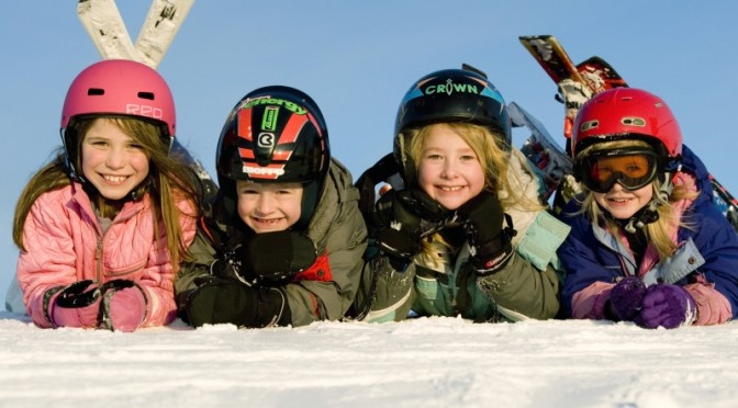 Fourth and Fifth Graders Ski Free in Michigan