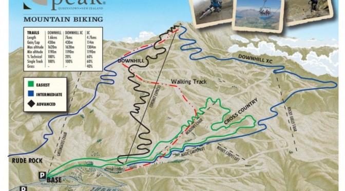 Mountain biking is back on the menu at Coronet Peak ski area in Queenstown, New Zealand. (image: NZSki)