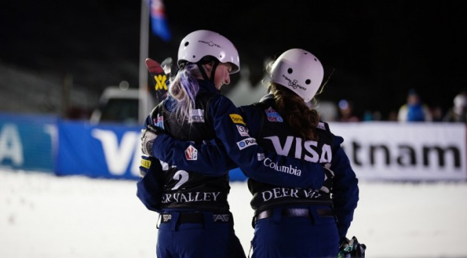 Historic 1-2 Finish for U.S. Aerialists at Deer Valley