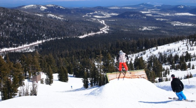One of Mt. Bachelor's terrain parks. (FTO file photo: Marc Guido)