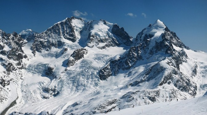 Piz Bernina and the Tschierva Glacier (file photo: Daniel Schwen)