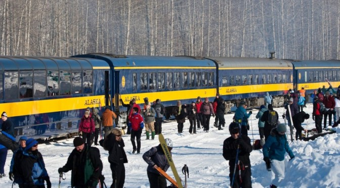 Alaska Ski Train Tickets Go on Sale Today
