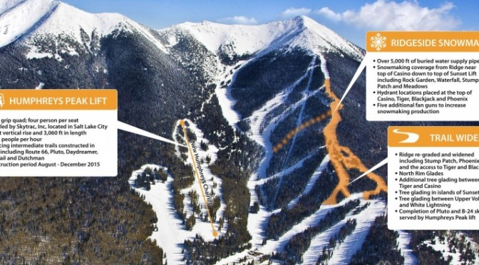Arizona Snowbowl Gets First New Chairlift in 30 Years