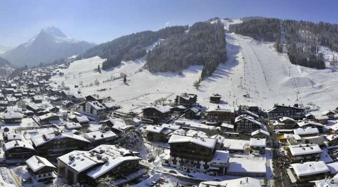 Combine Skiing with French Lessons