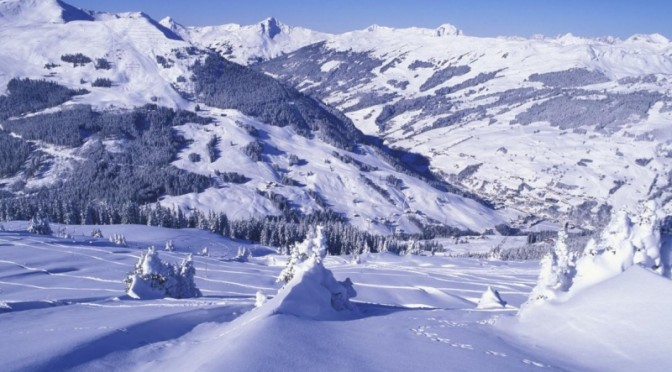 The Austrian winter resort of Saalbach will host a unique fundraiser for the UK-based charity Ski 4 Cancer this March. (file photo: Saalbach)