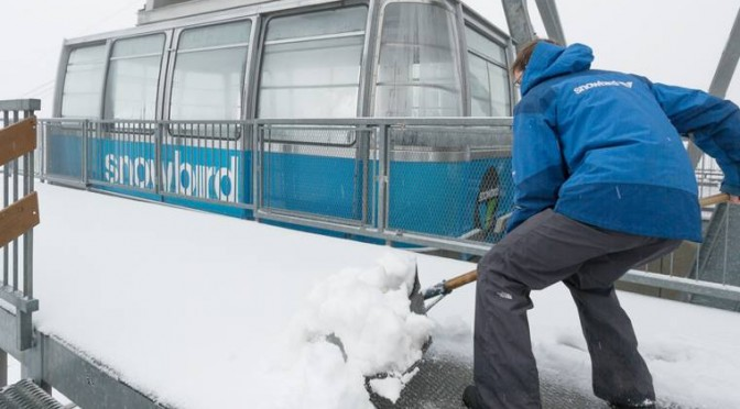 PHOTOS: Season's First Snows Pile Up at Western Ski Resorts