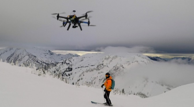Ski Resort Partner Granted Permission from the FAA for Drone Video Service