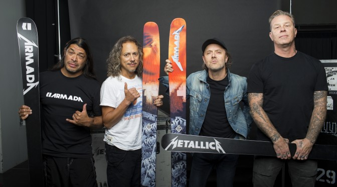 Rock Out with Armada's New Metallica Collection
