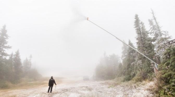 Sugarloaf Starts Making Snow
