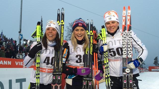 Bjornsen Leads Americans in Ruka