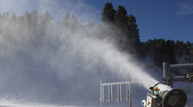 Mountain High, in Wrightwood, Calif., says that they'll be ready to open tomorrow. (photo: Mountain High Resort)