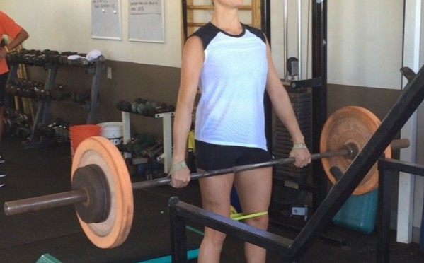 In the end, Julia Mancuso's pre-season time in the gym wasn't enough. (photo: Instagram)