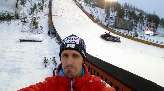Ruka Wind Scuttles World Cup Ski Jumping, Nordic Combined