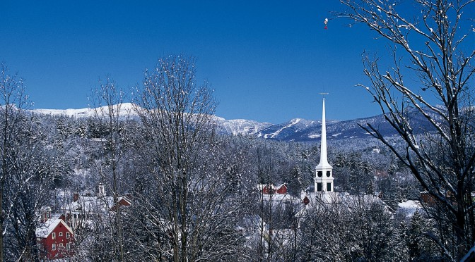 Stowe, the quintessential Vermont town. (file photo: Stowe Mountain Resort)